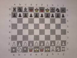 Chess Variant On 10x8 Board It Follows The Same Rules But Is Played A Bigger Squares And Each Player Starts With Two Kings Yellow Mark