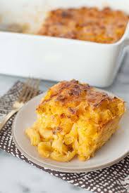 Baked cauliflower macaroni and cheese Snixy Kitchen