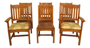30608EC: Set Of 6 STICKLEY Mission Oak Dining Room Chairs | EBay John Thomas Select Ding Mission Side Chair Fniture Barn Almanzo Barnwood Table Tapered Leg Black Base Amish Crafted Oak Room Set 1stopbedrooms Updating Style Chairs The Curators Collection Stickley Six Ellis A Original Sold Of 8 Arts Crafts 1905 Antique Craftsman Plans And With Urban Upholstered Rotmans Marbrisa Available At Jaxco
