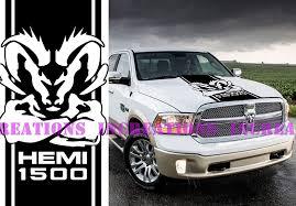 100 Ram Truck Decals Amazoncom Hemi Dodge 1500 Hood Stripe Mopar
