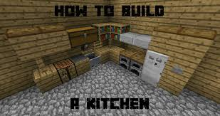 how to build a kitchen in minecraft youtube
