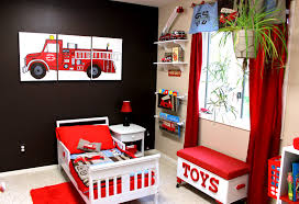 Fabulous House Color Toward Bedding Fire Truck Toddler S On Fire ...