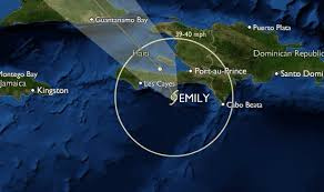 meteo port au prince haiti emily situation at 1pm the road of mirebalais savanette