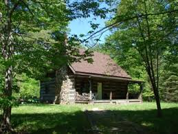 Hocking Hills Ohio Cabin Rental with Fishing and Swimming Pond