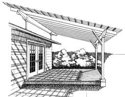 SKY LIFT Patio Cover Plans for use with SKY KIT Roof Riser Brackets