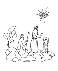 Shepherds Christmas Story Printable Coloring Pages
