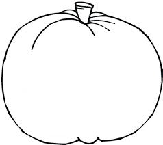 Oval Pumpkin Coloring Page Pages Ideas Office