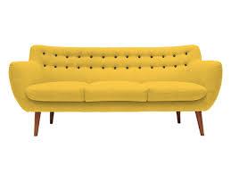 location de canapé canapé coogee 3 places sentou jaune location mobilier