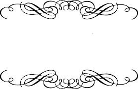 Wedding Swirls Clipart Free