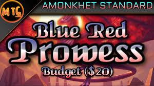 blue red prowess storm in amonkhet standard super budget deck