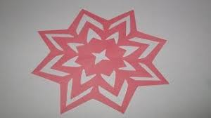 By Paper Crafts How To Make Simpleeasy Cutting Flower DesignsDIY Cut Out Tutorial Step