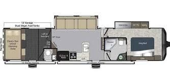 Raptor 5th Wheel Toy Hauler Floor Plans by 2014 Used Keystone Raptor 365lev Toy Hauler In New Mexico Nm