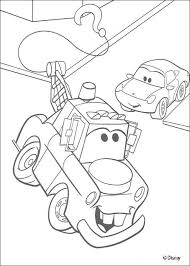 Coloring Pages Disney Cars Lightning Mcqueen Mater And Colouring