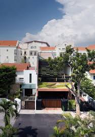 100 Terrace House In Singapore Tour 3760sqf Threestorey Home In With Sloping