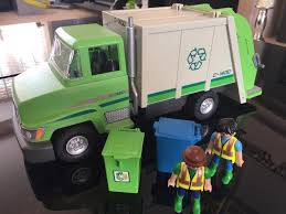 Playmobil Green Rubbish Garbage Truck | In Stockwood, Bristol | Gumtree