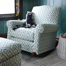 Teal Living Room Chair by Fabric Rocking Chairs Living Room Furniture Fabric Tuxedo Arm