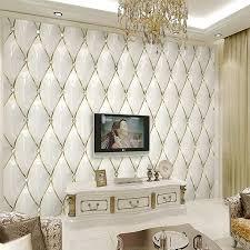 nach 3d wandbild moderne luxus gold kristall rautenförmigen nähte tapete wohnzimmer tv hintergrund wand dekoration wand tuch