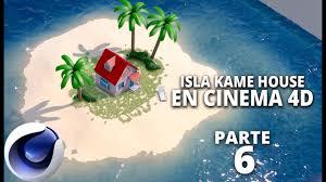 100 Kames House Isla En Cinema4D Parte 6
