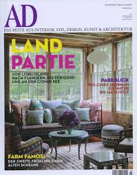 architectural digest germany let the in march