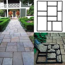 12x12 Ceiling Tiles Walmart by Topeakmart Garden Concrete Paving Pathway Patio Path Brick