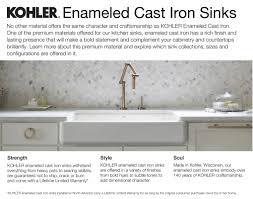 Kohler Sink Protector Rack by Faucet Com K 6626 6u 47 In Almond By Kohler