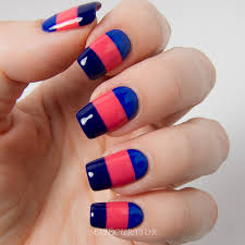 The Slight Asymmetry With Colorful Nail Art Is An Interesting Idea Looking Glamorous And Beautiful That Will Add Opulence Playful Charm In Girls