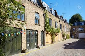 100 Mews Houses Bricks Mews Houses In London In A Sunny Day England