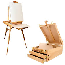 Easel Desk With Stool by Easels