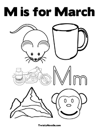 Perfect March Coloring Pages 81 For Free Book With