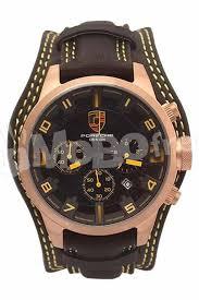 Porsche Design Black Leather
