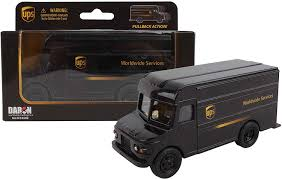 100 Ups Truck Toy Daron UPS Pullback Package