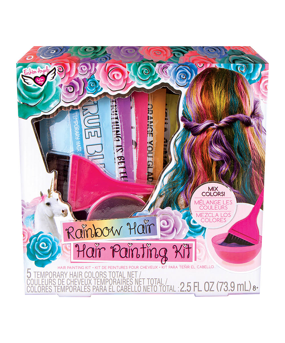 Fashion Angels - Rainbow Hair Painting Kit (12386)