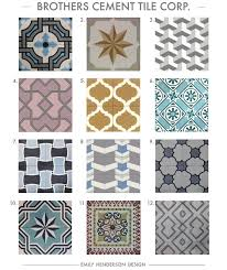 cement tile roundup brothers cement tile corp patterned tiles