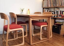 chaise traineau baumann atelier compas chaises baumann en situation