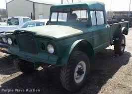 1968 Kaiser Jeep Pickup Truck | Item L7343 | SOLD! December ... Jeep Scrambler Pickup Truck Jt Quadratec Wranglerbased Production Starting In April 2019 What Name Would You Like The All New To Be 2018 Wrangler Leak 2400 X 1350 Auto Car Update Spy Photos Of The Old Vintage Willys For Sale At Pixie Woods Sales Pics Page 5 Filejpcomanchepioneerjpg Wikimedia Commons 1966 Jseries Near Wilkes Barre Pennsylvania Pickup Truck Spotted By Car Magazine To Get Stats Confirmed By Fiat Chrysler You