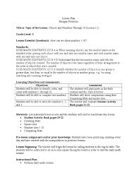 math lesson for portfolio teachers educational assessment