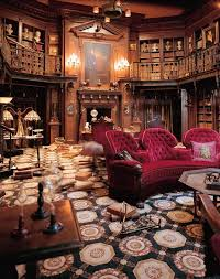 The Study Set From Haunted Mansion Movie