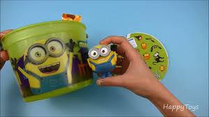 Mcdonalds Halloween Buckets new minions halloween buckets mcdonalds pails complete set of 4