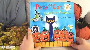 Spookley The Square Pumpkin Book Read Aloud by Pete The Cat Five Little Pumpkins By James Dean Children U0027s