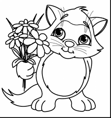 Wonderful Spring Flower Coloring Pages With Page And Pdf