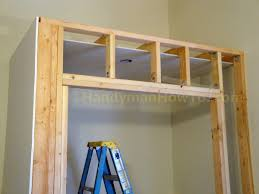 Hanging Drywall On Ceiling Joists by How To Build A Basement Closet Ceiling Drywall