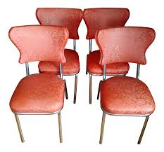 Equipale Chairs Los Angeles by Vintage U0026 Used Orange Dining Chairs Chairish