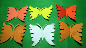 Paper Cutting Design How To Make Butterfly DIY Kirigami Tutorial Step By