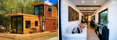 100 Shipping Container Homes Floor Plans This Tiny Home With A Rooftop Deck Is Made From Two Shipping