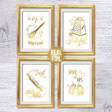 lustige küche poster set 4 kochen zitat druck esszimmer dekor küche wand dekor glitter wanddekoration wohnzimmer wandkunst g385