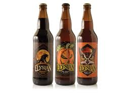 Elysian Night Owl Pumpkin Ale by Attack Of The Pumpkin Draft Magazine