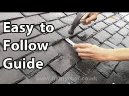slate roof repair how to replace a slate broken slates