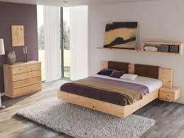 schlafzimmer aus massivholz zirbe mit zirbenbett lilli 180
