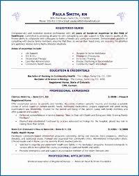 Experienced Rn Resume Fresh Nurse Information