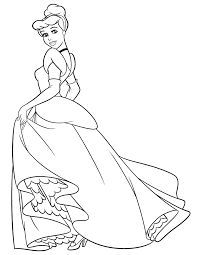Cinderella Coloring Pages And Book